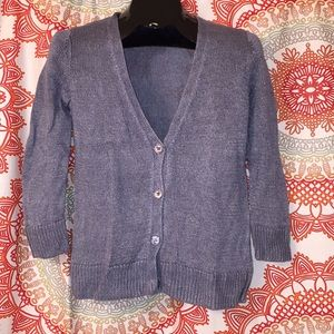 TALBOTS S Cardigan Sweater Top